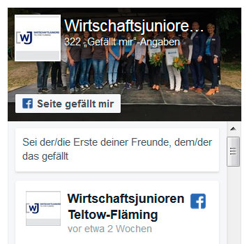 Screen Facebook-Widget
